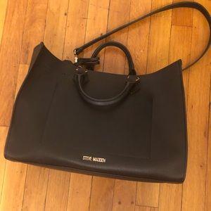 Steve Madden Black Hand Bag